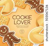 cookie lover elements   vector... | Shutterstock .eps vector #503067136