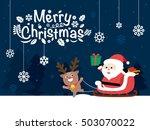 santa claus. vector illustration | Shutterstock .eps vector #503070022