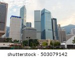office building cityscape in... | Shutterstock . vector #503079142