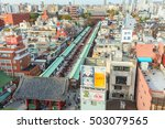 tokyo  japan  november 16  2015 ... | Shutterstock . vector #503079565
