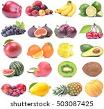 fresh fruit | Shutterstock . vector #503087425