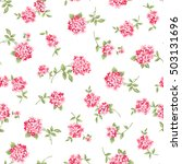 flower pattern illustration | Shutterstock .eps vector #503131696