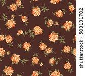 flower pattern illustration | Shutterstock .eps vector #503131702