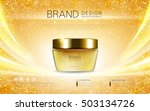 cosmetic cream container ... | Shutterstock .eps vector #503134726