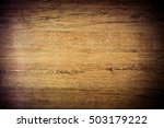 wooden background texture of... | Shutterstock . vector #503179222