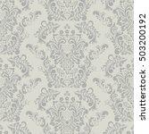 seamless vintage vector... | Shutterstock .eps vector #503200192