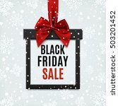 black friday sale  square... | Shutterstock .eps vector #503201452