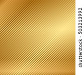 vector gold background with... | Shutterstock .eps vector #503213992