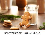 homemade cookies for the feast... | Shutterstock . vector #503223736
