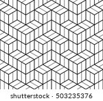 abstract geometric hipster... | Shutterstock .eps vector #503235376