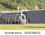 industrial air filtration and... | Shutterstock . vector #503238652