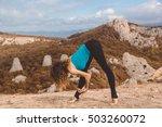 Dancer Girl In Mountains...
