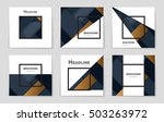 abstract vector layout... | Shutterstock .eps vector #503263972