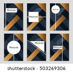 abstract vector layout... | Shutterstock .eps vector #503269306