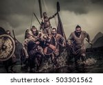 Mad Vikings Warriors In The...