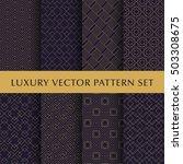 luxury golden vector patterns... | Shutterstock .eps vector #503308675