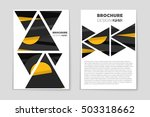 abstract vector layout... | Shutterstock .eps vector #503318662