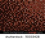 Dark Background With Orange...