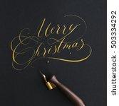 The Inscription Merry Christma...