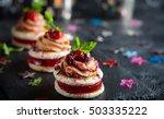 festive appetizer with foie... | Shutterstock . vector #503335222