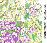 set hand drawn vector... | Shutterstock .eps vector #503357056