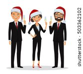 congratulations on christmas...   Shutterstock .eps vector #503362102