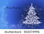 christmas tree | Shutterstock .eps vector #503374996