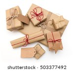 rustic retro gifts  present...   Shutterstock . vector #503377492