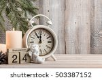 christmas eve background  copy... | Shutterstock . vector #503387152
