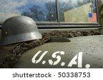 Vintage American Army Jeep