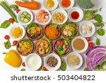 salad group photo | Shutterstock . vector #503404822