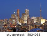Densely Packed Toronto - stock photo
