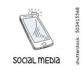 social media concept | Shutterstock . vector #503415568