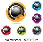 eps10 futuristic icon | Shutterstock .eps vector #50341849
