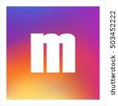 letter m vector  logo. useful...