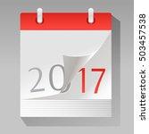new year is coming. vector...   Shutterstock .eps vector #503457538