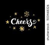 christmas calligraphy....   Shutterstock .eps vector #503468326