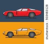super car vector illustration.... | Shutterstock .eps vector #503483128