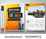 brochure design template vector.... | Shutterstock .eps vector #503484922