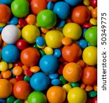 round colorful candies  viewed... | Shutterstock . vector #50349775