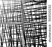 irregular  random lines... | Shutterstock . vector #503520232