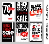 set of mobile sale banners.... | Shutterstock .eps vector #503521042