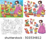 Snow White And Seven Dwarfs....