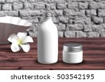 cosmetic  packaging template... | Shutterstock . vector #503542195