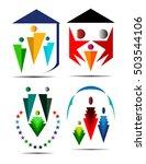 family logo | Shutterstock .eps vector #503544106
