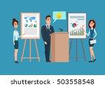 business professional work team.... | Shutterstock .eps vector #503558548
