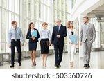 people  work and corporate...   Shutterstock . vector #503560726