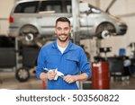 car service  repair ... | Shutterstock . vector #503560822