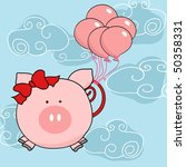 adorable,animal,announcement,baby,balloon,card,cartoon,cloud,comic,cute,day,design,domesticated,doodle,engagement