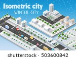 isometric module of the modern... | Shutterstock .eps vector #503600842